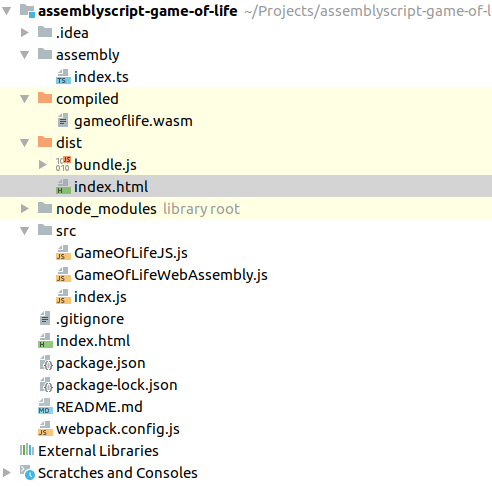 Game of Life and AssemblyScript